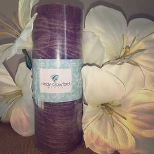 Cindy Crawford Style New  Pillar Candle